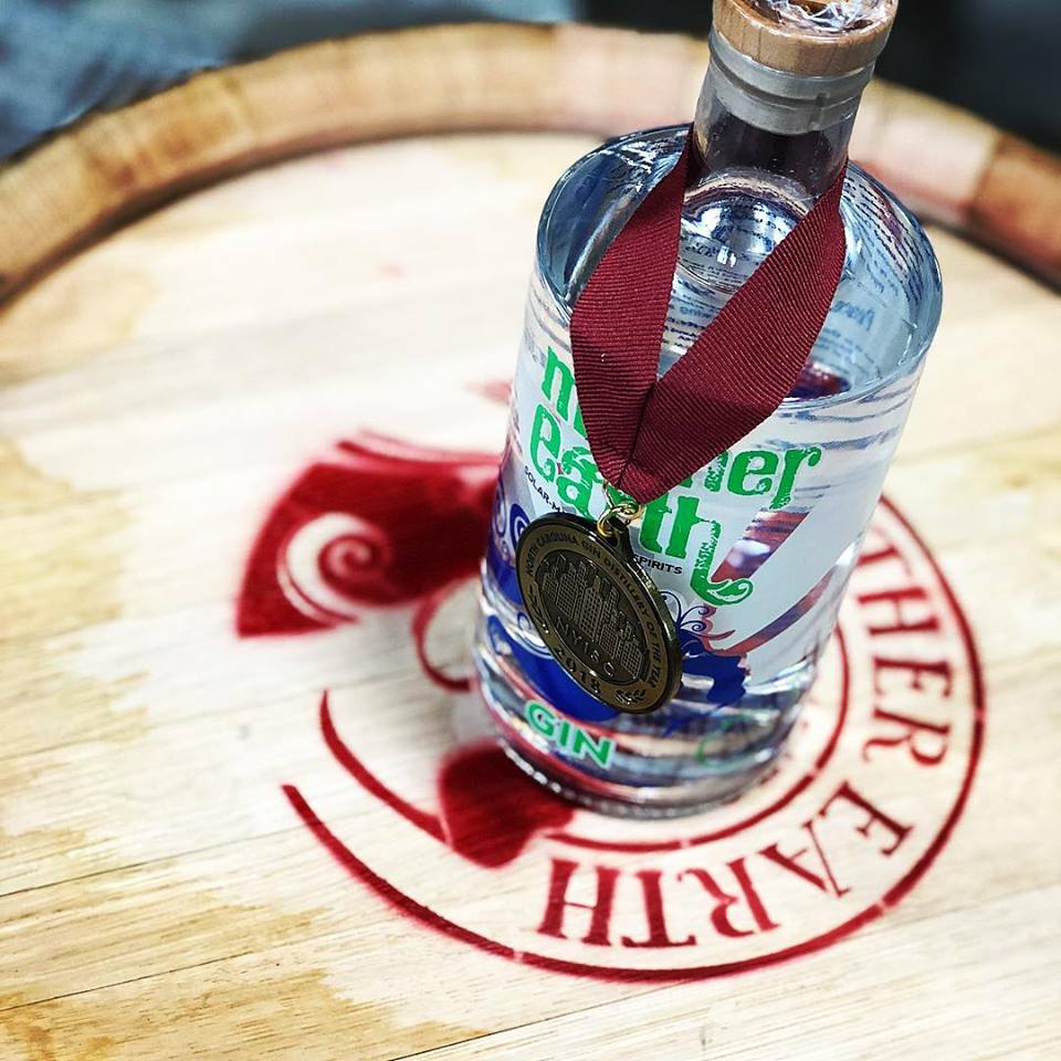 Mother Earth Named 2018 Gin Distillery of the Year